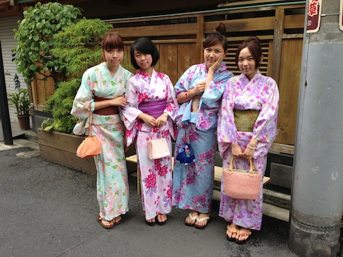 2013 Costomer's photos -YUKATA- summer