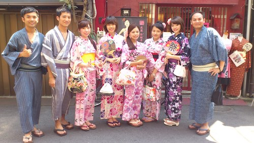 2014 Costomer's photos -YUKATA-summer